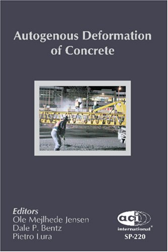 AUTOGENOUS DEFORMATION OF CONCRETE (Special Publication (Amer Concrete Inst))