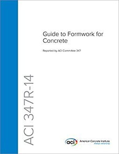 9780870319105: ACI 347-14 - Guide to Formwork for Concrete
