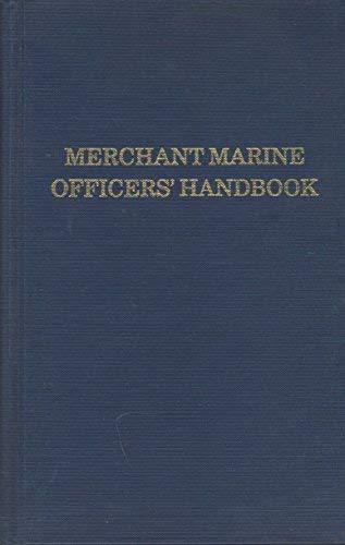9780870330568: Merchant Marine Officers' Handbook