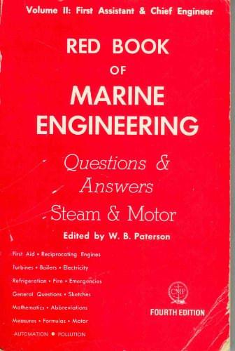9780870330896: 002: Red Book of Marine Engineering: Questions and Answers