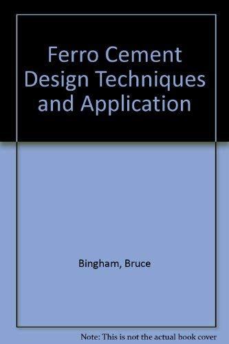 9780870333170: Ferro Cement Design Techniques and Application