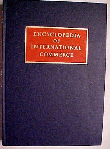 Encyclopedia of International Commerce