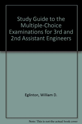 9780870333392: Study Guide to the Multiple-Choice Examinations for 3rd and 2nd Assistant Engineers
