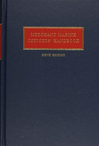 MERCHANT MARINE OFFICERS' HANDBOOK; FIFTH EDITION: Hayler, William B.