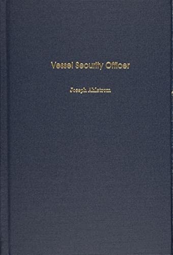 9780870335709: VESSEL SECURITY OFFICER