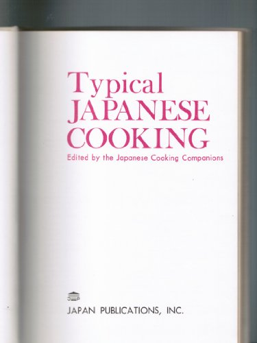 Typical Japanese Cooking