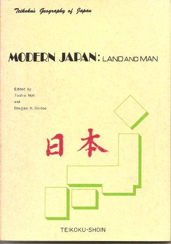 9780870403262: Modern Japan: Land and Man (Teikoku's geography of Japan)