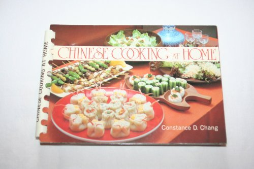 Chinese Cooking at Home: Chang, Constance D.