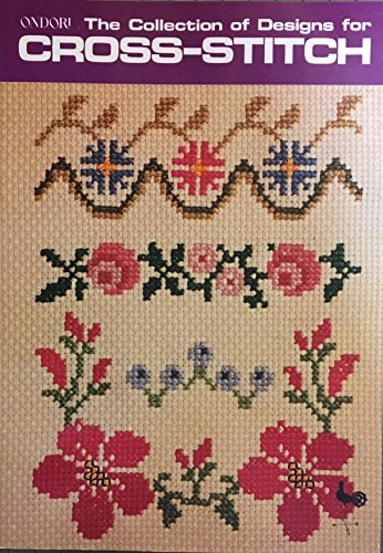 9780870404863: The Collection of Designs for Cross Stitch (Ondori)