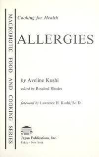 9780870406188: Cooking for Health: Allergies (Macrobiotic Food and Cooking Series)