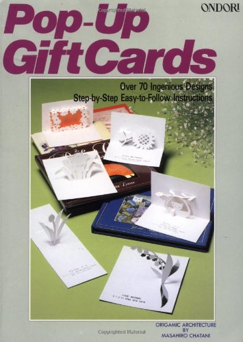 Pop-Up Gift Cards (9780870407680) by Masahiro Chatani
