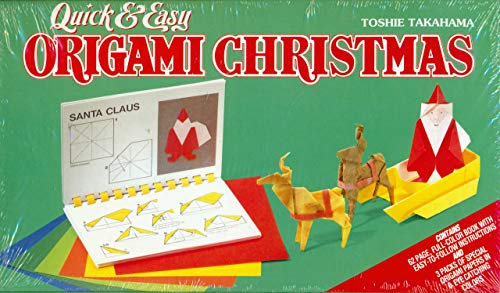 Quick and Easy Origami Christmas: Toshie Takahama