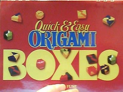 9780870409394: Quick and Easy Origami Boxes