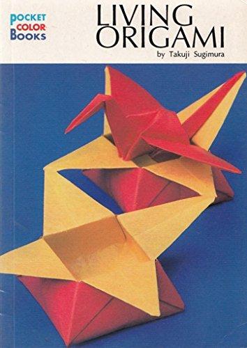 9780870409677: Living Origami (Pocket Colour Book)