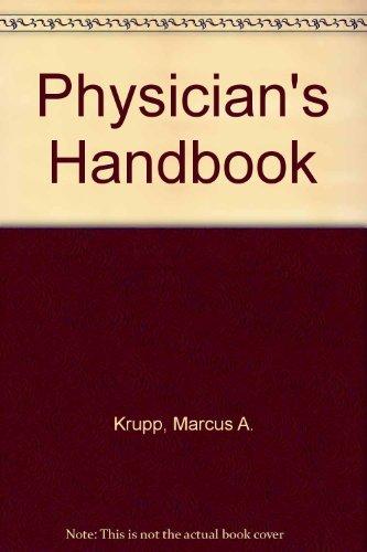 Physician's Handbook: Krupp, Marcus A.