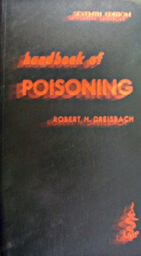 9780870410727: Handbook of Poisoning