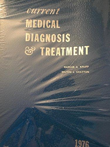 9780870411250: Current medical diagnosis and treatment