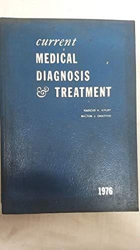 9780870411267: Current Medical Diagnosis & Treatment