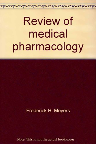 9780870411533: Review of medical pharmacology