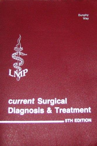 9780870411946: Current surgical diagnosis & treatment