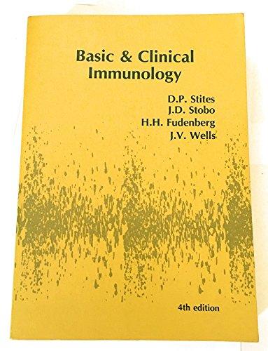Basic & Clinical Immunology: Stobo Stites