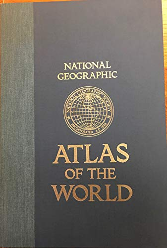 9780870443473: National Geographic Atlas of the World.