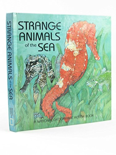 9780870446863: Strange Animals of the Sea (National Geographic Action Book)