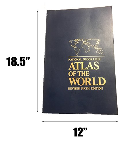 9780870448355: National Geographic Atlas of the World