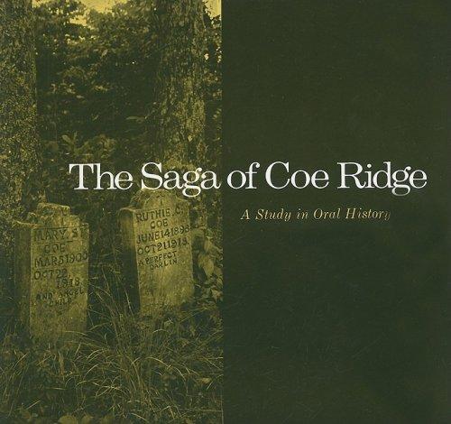 9780870493157: Saga Coe Ridge: Study Oral History