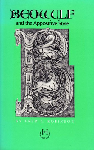 9780870494444: Beowulf and the Appositive Style (Hodges Lectures)