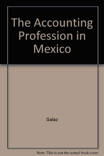 9780870511196: The Accounting Profession in Mexico