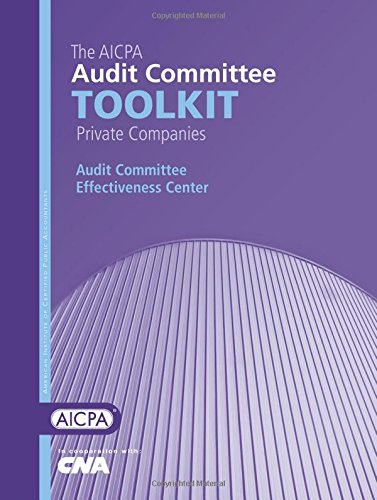 9780870516795: The AICPA Audit Committee Toolkit: Public Companies