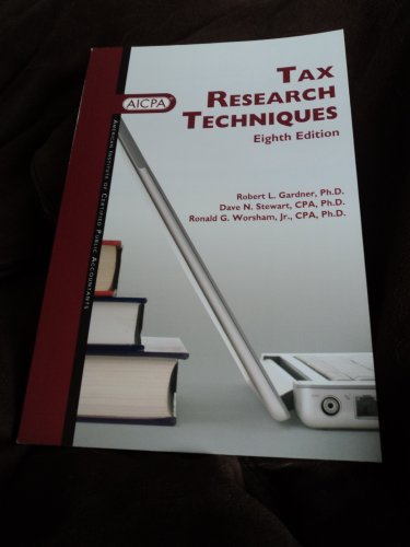 9780870517273: Tax Research Techniques, Eighth Edition