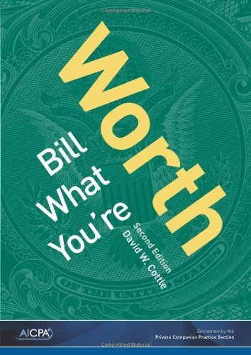 9780870519178: Bill What You're Worth, Second Edition