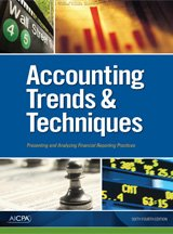 9780870519277: Accounting Trends & Techniques 2010