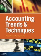 Accounting Trends and Techniques: American Institute of CPAs