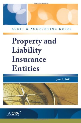 Property and Liability Insurance Entities (0870519905) by American Institute of Certified Public Accountants