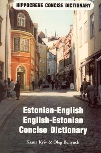 9780870520815: Estonian-English English-Estonian Dictionary