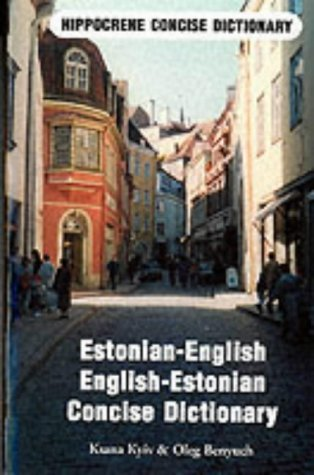 9780870520815: Estonian-English/English-Estonian Concise Dictionary (Hippocrene Concise Dictionaries)