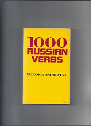 1,000 Russian Verbs: Andreyeva, Victoria