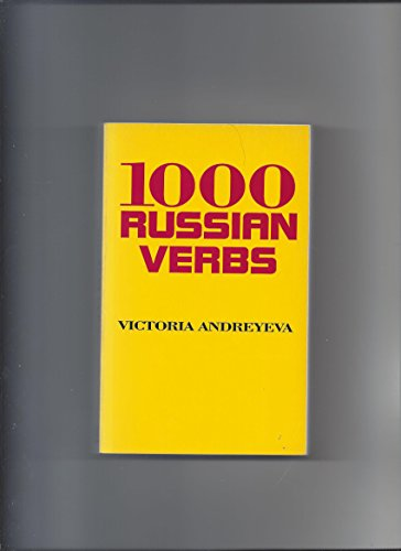1,000 Russian Verbs: Victoria Andreyeva