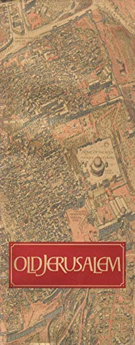 9780870522772: Bollmann Picture and Street Map Jerusalem