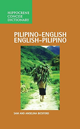 9780870524912: Pilipino-English/English-Pilipino Concise Dictionary
