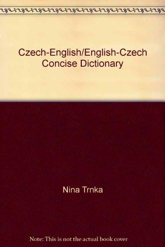 9780870525865: Czech/English English/Czech Concise Dictionary