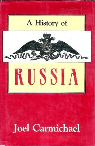 9780870526244: A History of Russia