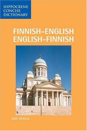 9780870528132: Finnish-English/English-Finnish Dictionary (Hippocrene Concise)