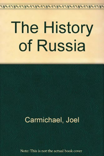 9780870529573: The History of Russia