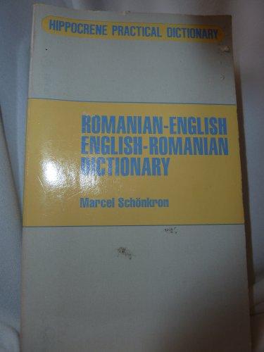 Romanian-English English-Romanian Dictionary: Marcel Schonkron