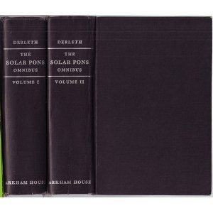 Solar Pons Omnibus (two volume set) (9780870540066) by August Derleth