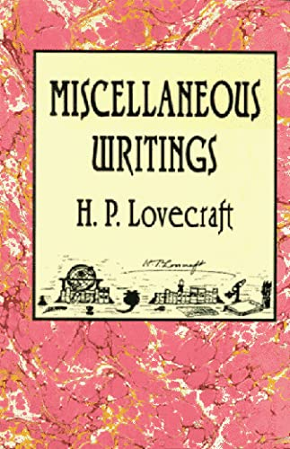 9780870541681: Miscellaneous Writings